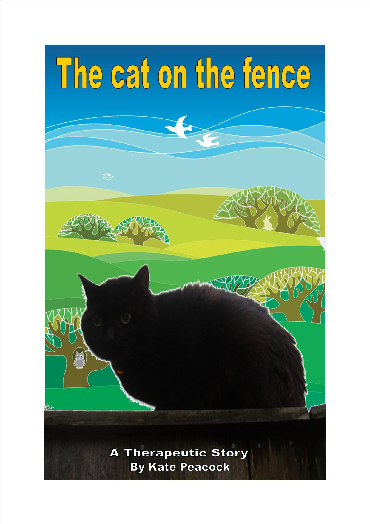 the cat on the fence soothing stories sand trays